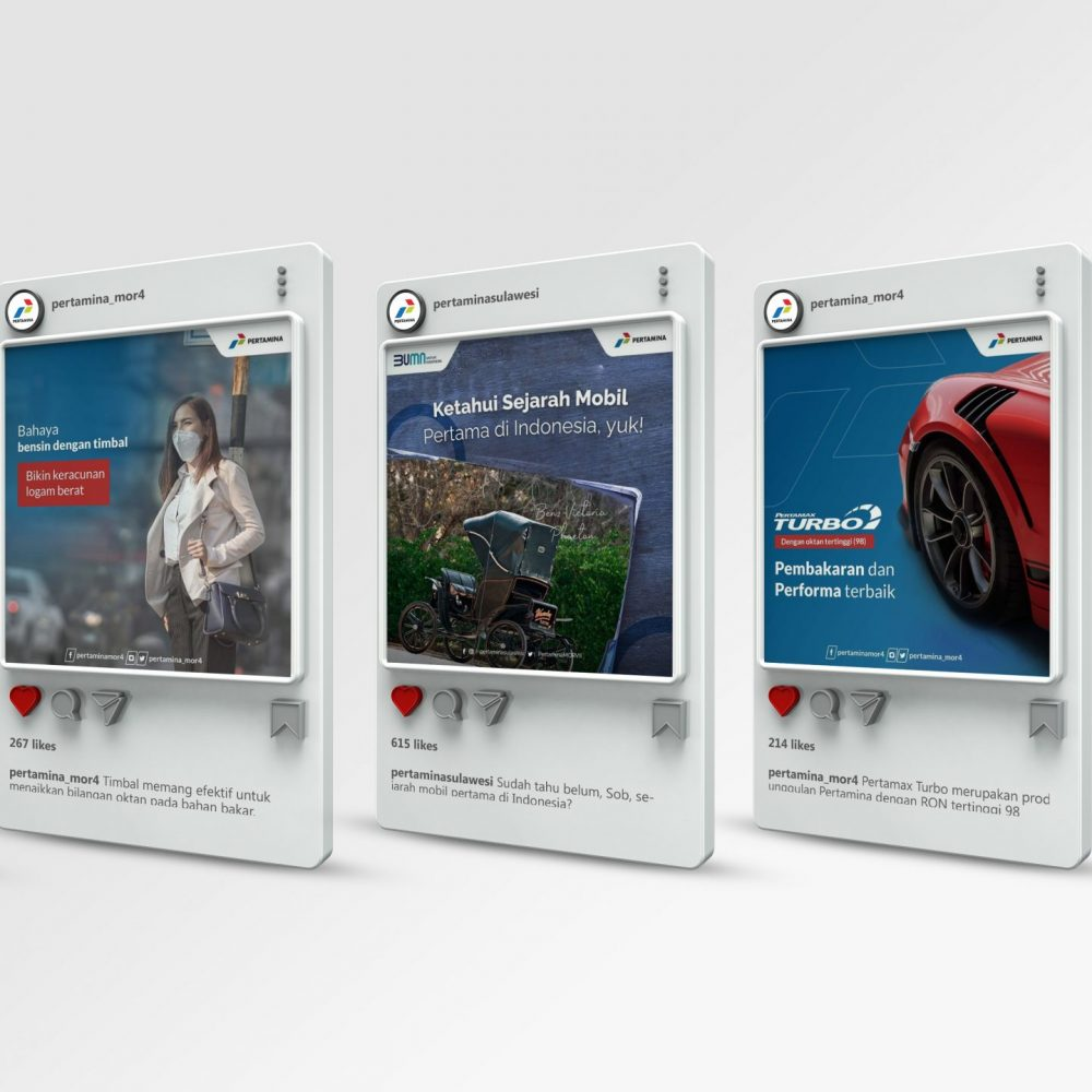 Portfolio - Pertamina IG Feed Mock Up